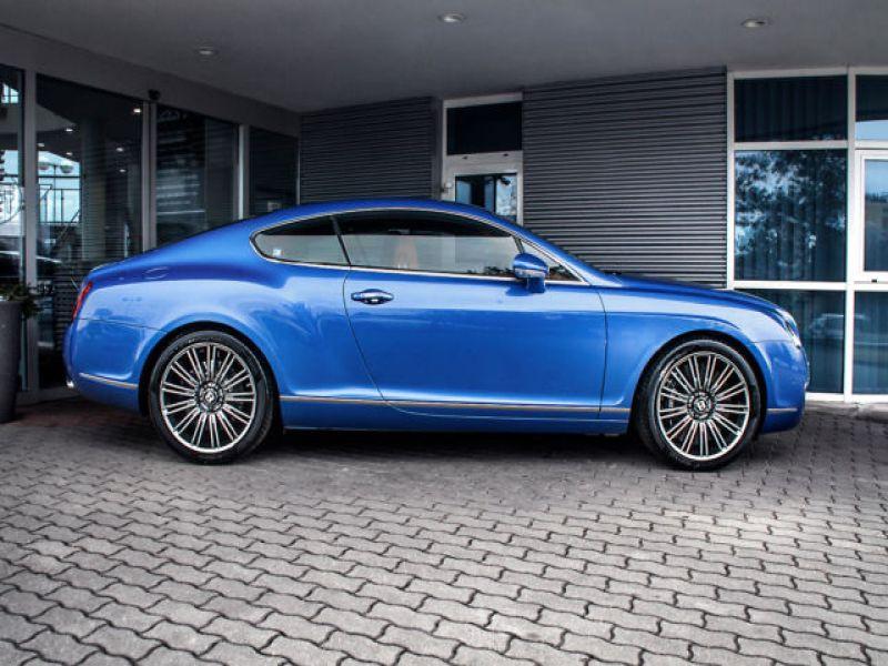 Bentley CONTINENTAL GT W12 Speed 610 ch Bleu occasion à BEAUPUY - photo n°8
