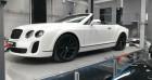 Bentley CONTINENTAL GTC Supersports 6.0 630 W12 Blanc à SAINT LAURENT DU VAR 06
