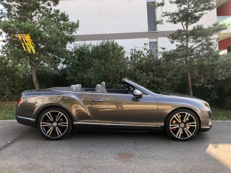 Bentley CONTINENTAL GTC V8 Gris occasion à BEAUPUY - photo n°4