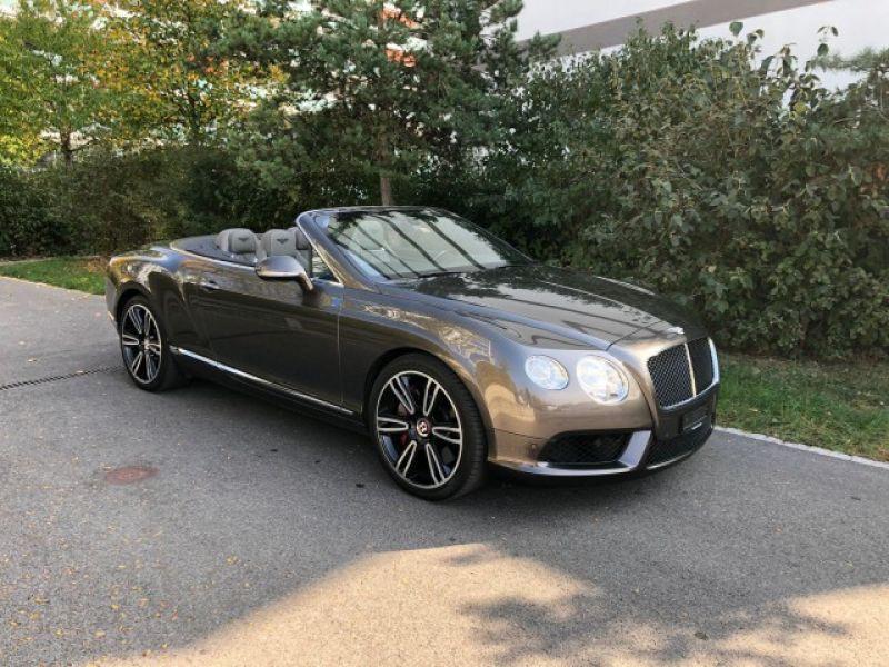 Bentley CONTINENTAL GTC V8 Gris occasion à BEAUPUY