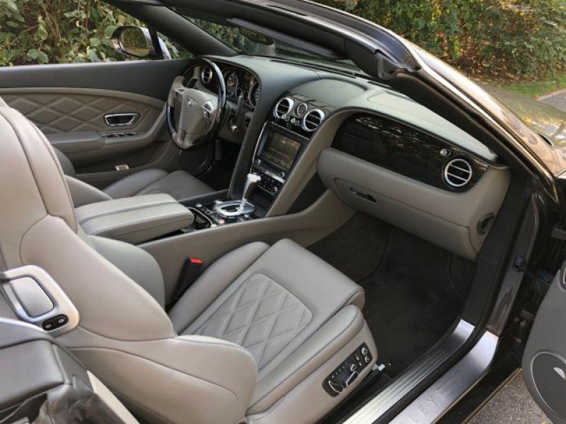 Bentley CONTINENTAL GTC V8 Gris occasion à BEAUPUY - photo n°5