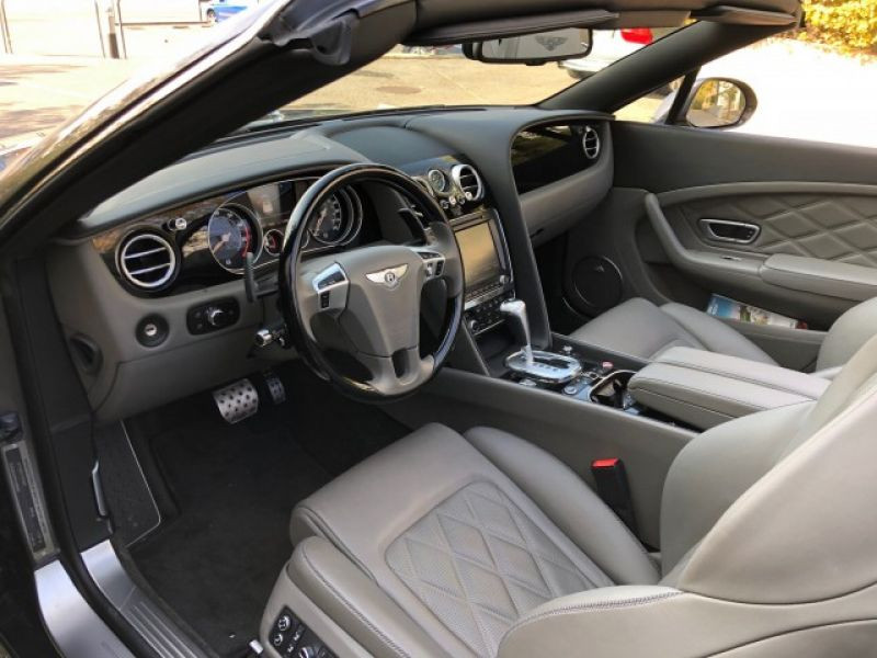 Bentley CONTINENTAL GTC V8 Gris occasion à BEAUPUY - photo n°2