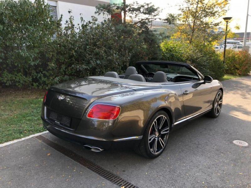 Bentley CONTINENTAL GTC V8 Gris occasion à BEAUPUY - photo n°3