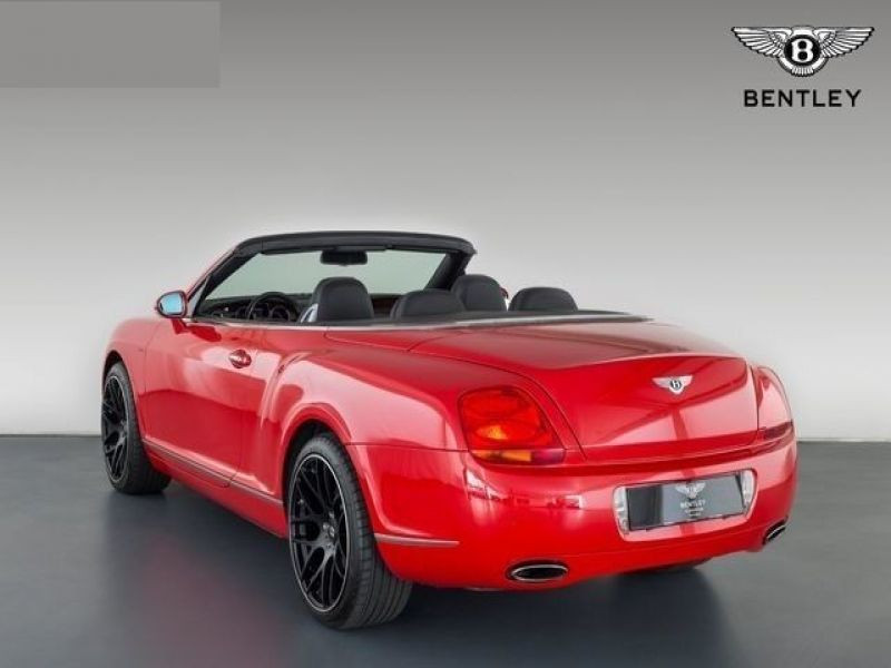 Bentley CONTINENTAL GTC W12 Rouge occasion à BEAUPUY - photo n°2