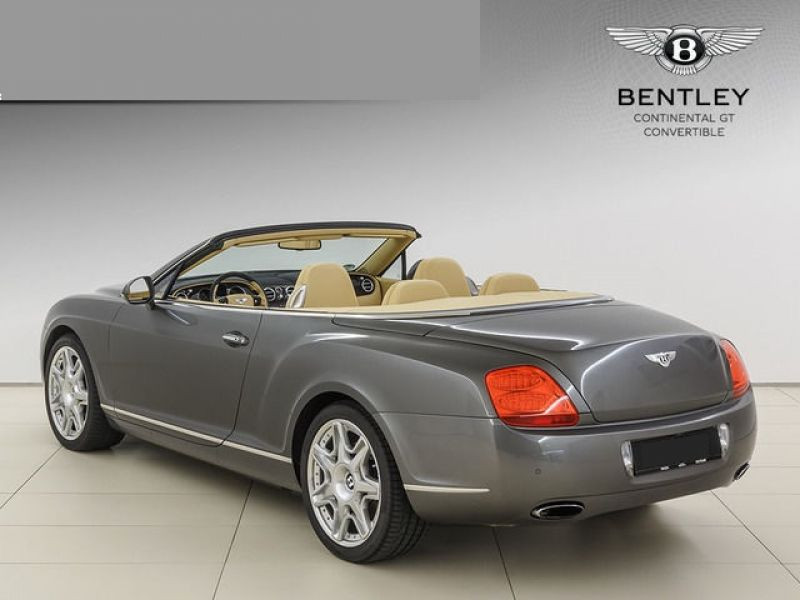 Bentley CONTINENTAL GTC W12 Gris occasion à BEAUPUY - photo n°2