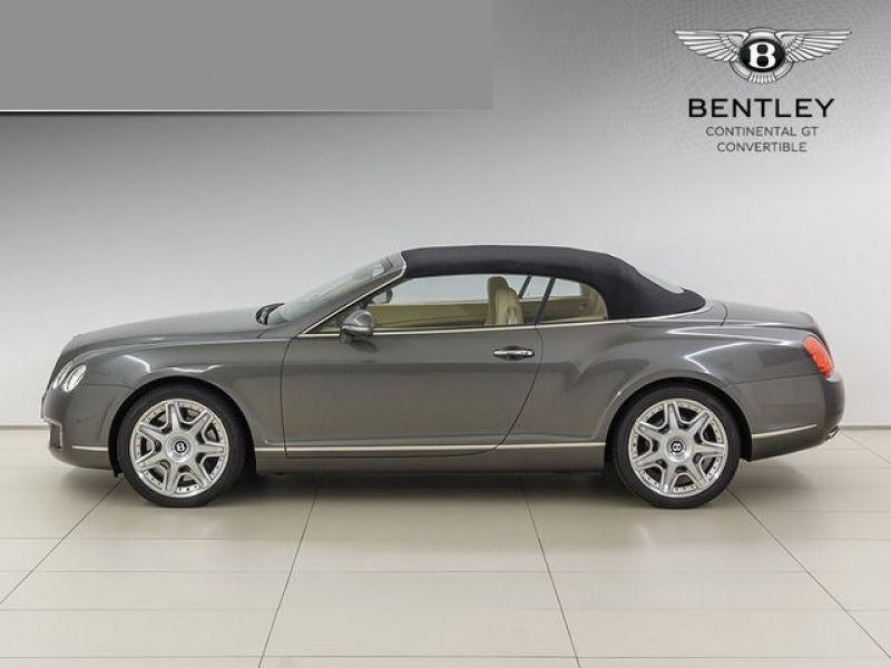 Bentley CONTINENTAL GTC W12 Gris occasion à BEAUPUY - photo n°8