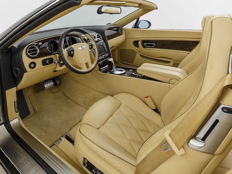 Bentley CONTINENTAL GTC W12 Gris occasion à BEAUPUY - photo n°3