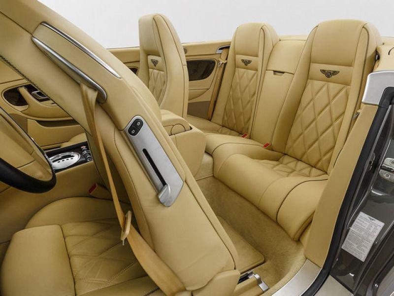 Bentley CONTINENTAL GTC W12 Gris occasion à BEAUPUY - photo n°4
