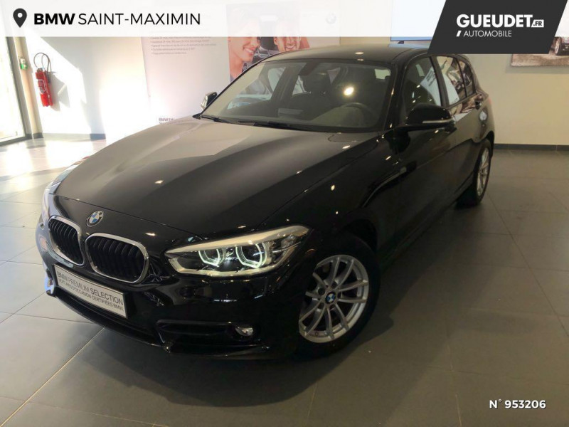 Bmw 116 (F20) (2) 116D 116 BUSINESS DESIGN Noir occasion à Saint-Maximin
