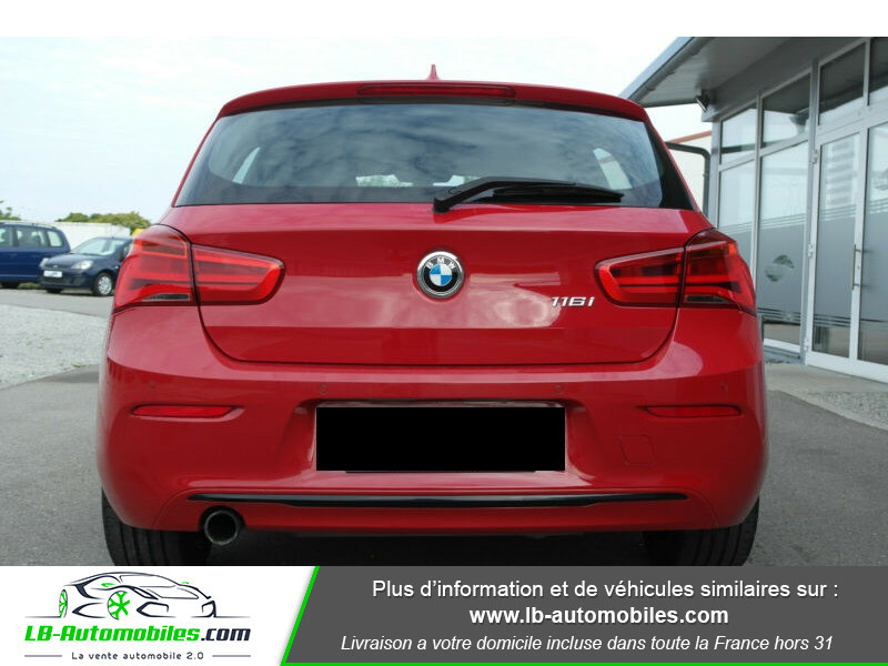 Bmw 116 116 i 109 Rouge occasion à Beaupuy - photo n°4