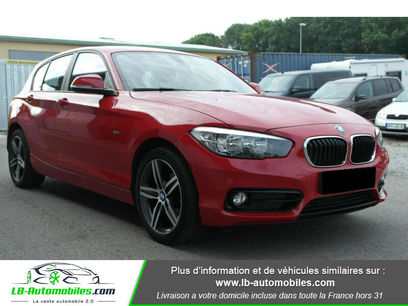 Bmw 116 116 i 109 Rouge occasion à Beaupuy - photo n°2