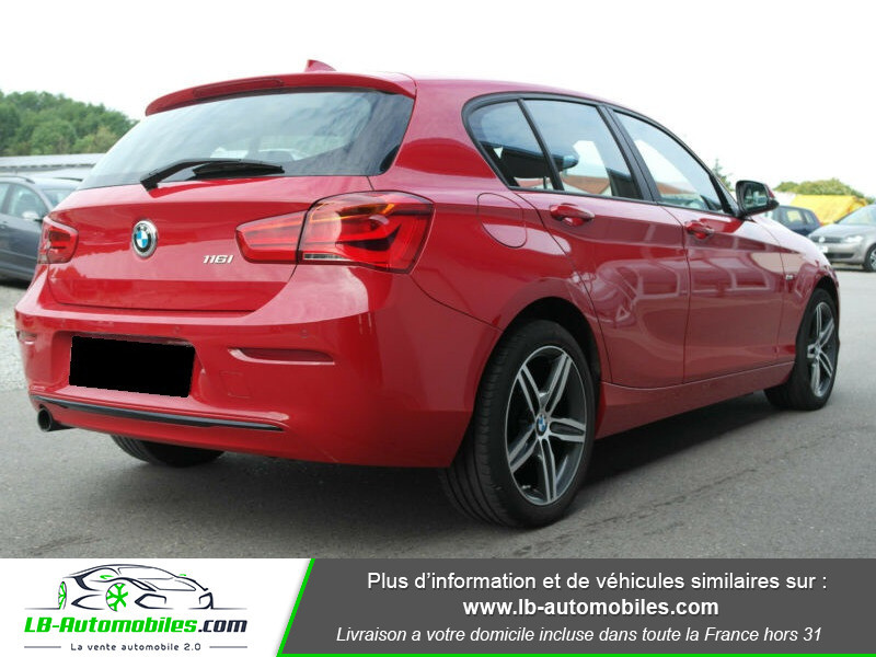 Bmw 116 116 i 109 Rouge occasion à Beaupuy - photo n°3