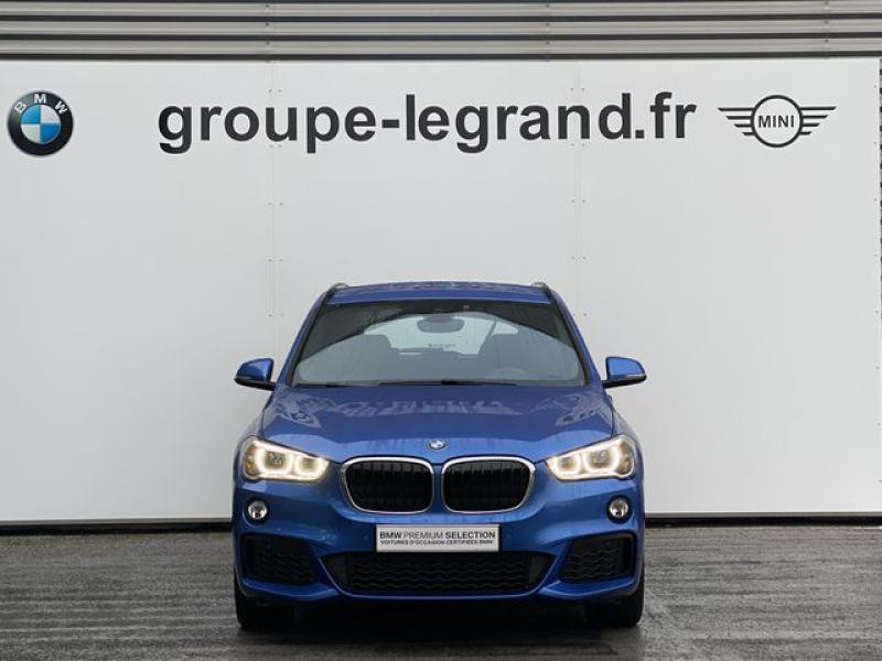 Bmw 116 sDrive16d 116ch M Sport Bleu occasion à Le Mans - photo n°3