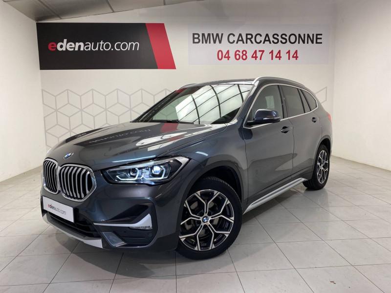Bmw 116 X1 sDrive 16d 116 ch DKG7 xLine 5p Gris occasion à Carcassonne