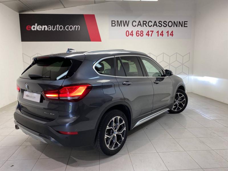 Bmw 116 X1 sDrive 16d 116 ch DKG7 xLine 5p Gris occasion à Carcassonne - photo n°2