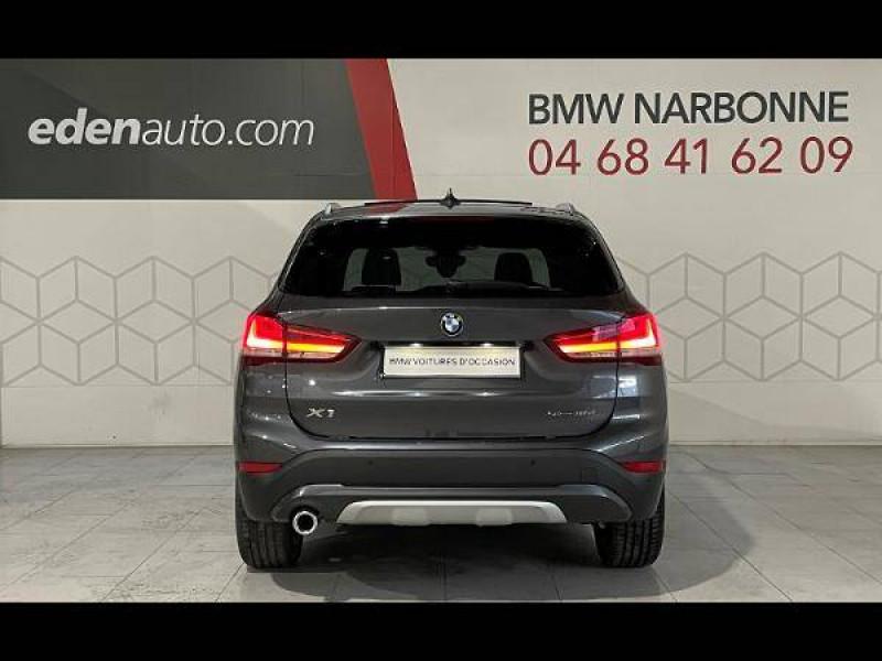 Bmw 116 X1 sDrive 16d 116 ch DKG7 xLine 5p Gris occasion à Narbonne - photo n°4