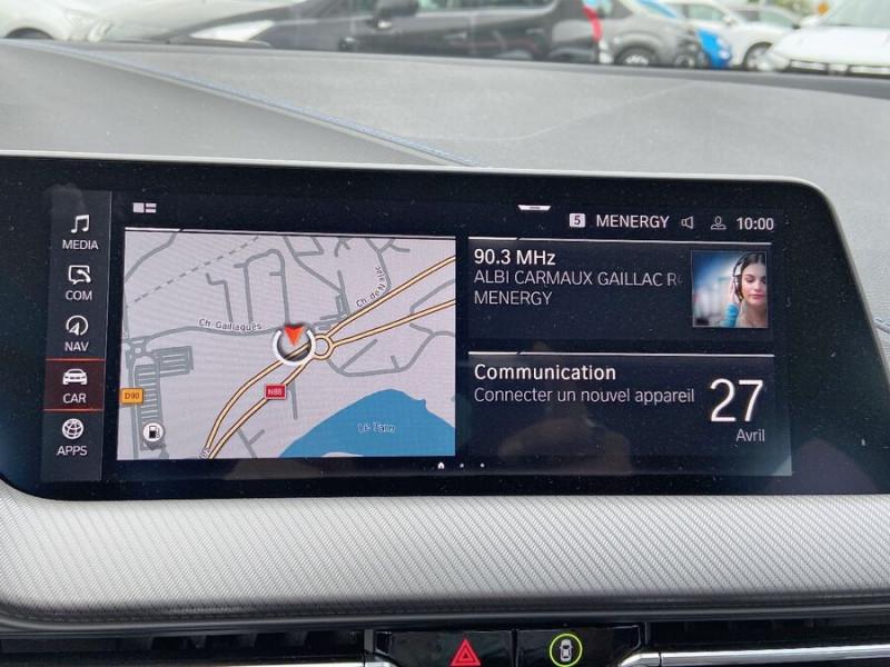 Bmw 118 (F40) 118D 150 BVA8 MSPORT GPS Full LED Gtie. 3ans Noir occasion à Carcassonne - photo n°13