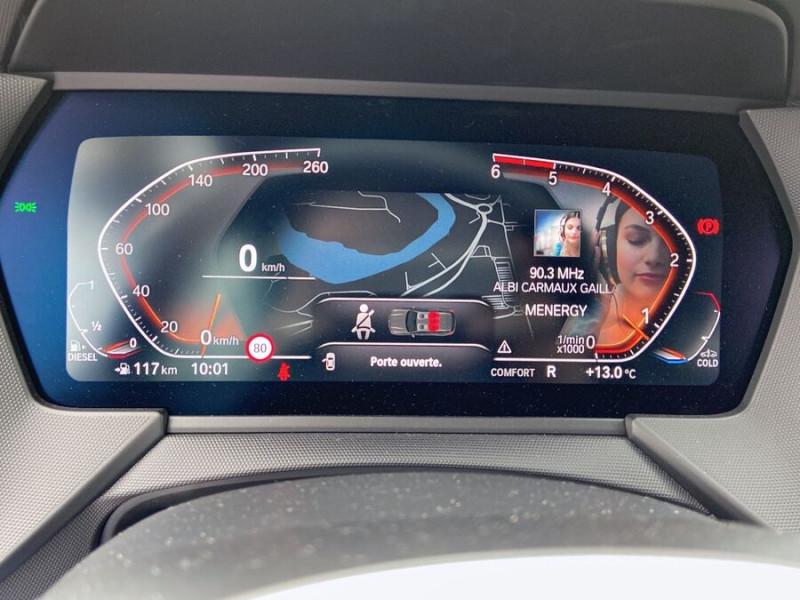 Bmw 118 (F40) 118D 150 BVA8 MSPORT GPS Full LED Gtie. 3ans Noir occasion à Carcassonne - photo n°15