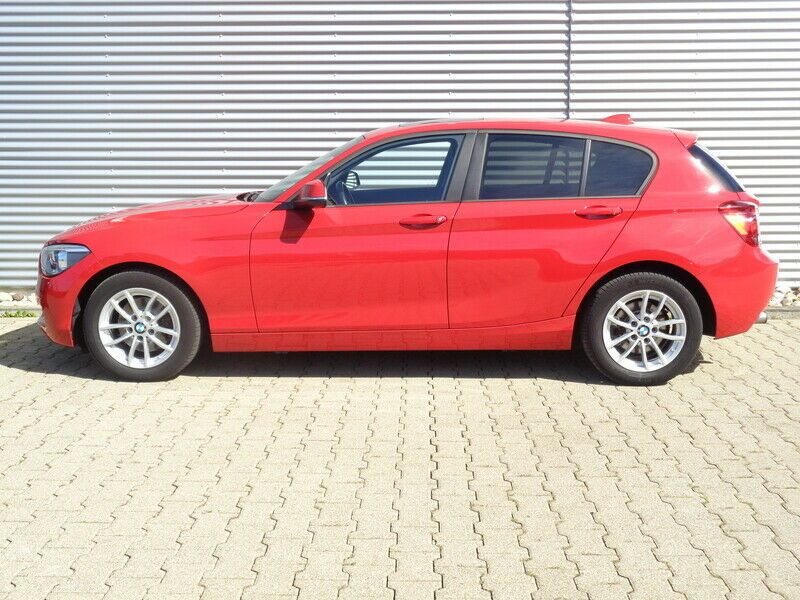 Bmw 118 118i 170 Rouge occasion à Beaupuy - photo n°6