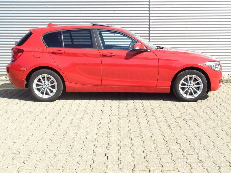 Bmw 118 118i 170 Rouge occasion à Beaupuy - photo n°7