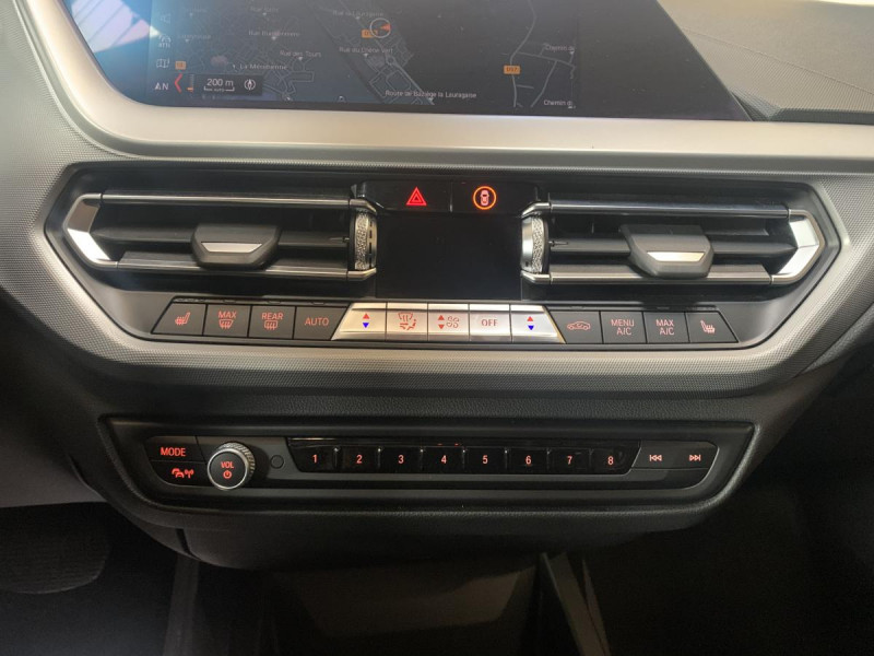 Bmw 118 BMW 118iA 136 ch EXCECUTIVE + CAMERA Noir occasion à Labège - photo n°12