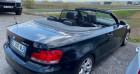 Bmw 120 E88 Cabriolet 120d 177 ch Confort Noir à Bouxières Sous Froidmond 54