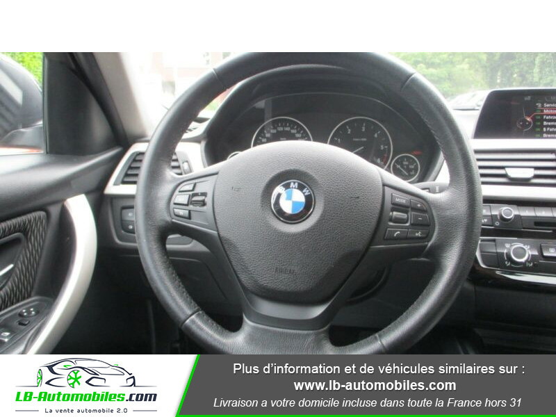 Bmw 316 316d 116ch F30 Noir occasion à Beaupuy - photo n°6