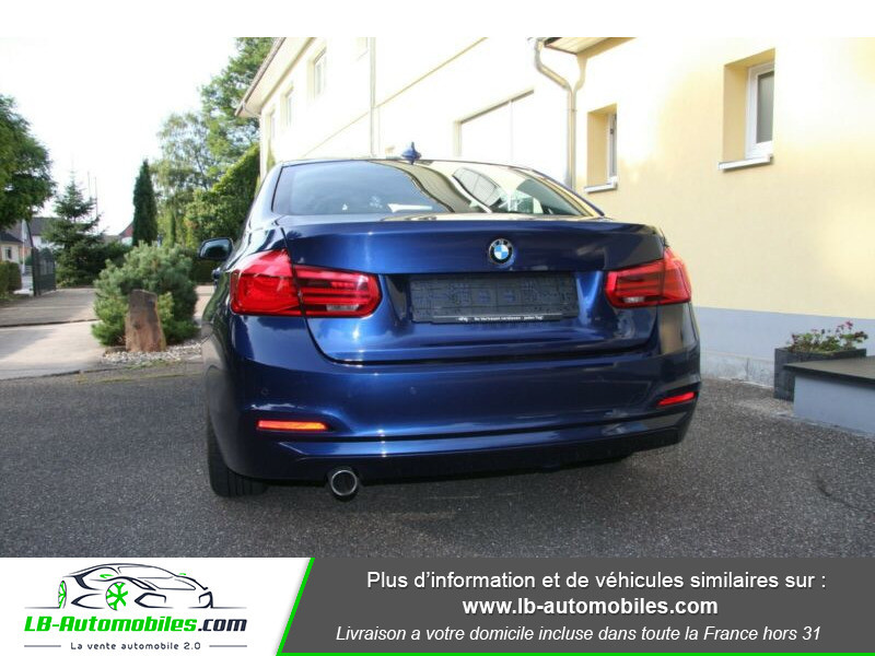 Bmw 318 318d 150ch F30 Bleu occasion à Beaupuy - photo n°11