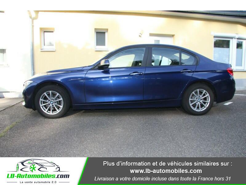 Bmw 318 318d 150ch F30 Bleu occasion à Beaupuy - photo n°8