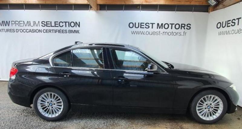 Bmw 318 318dA 150ch Luxury Ultimate Euro6d-T Noir occasion à BREST - photo n°2
