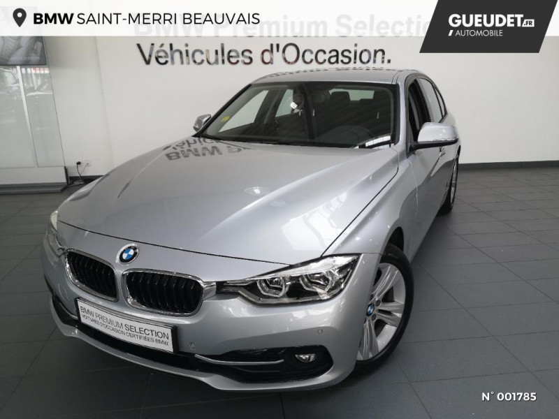 Bmw 318 BMW  318D 150CH BERLINE SPORT Gris occasion à Beauvais