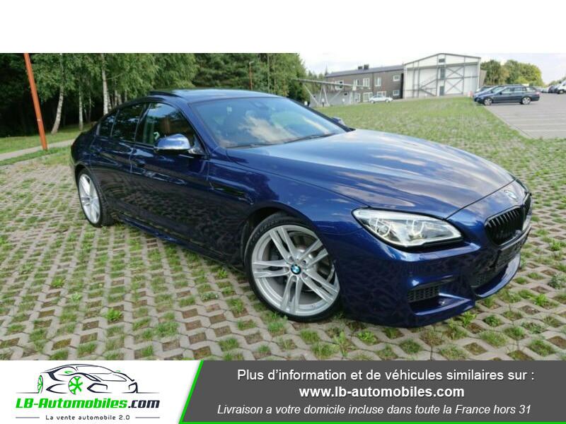Bmw 320 640i 320ch F06 Bleu occasion à Beaupuy - photo n°12