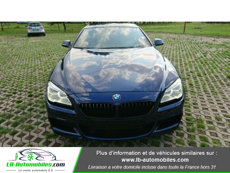 Bmw 320 640i 320ch F06 Bleu occasion à Beaupuy - photo n°14