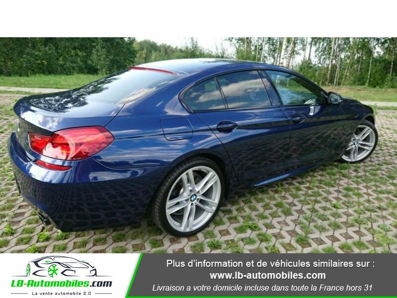 Bmw 320 640i 320ch F06 Bleu occasion à Beaupuy - photo n°11