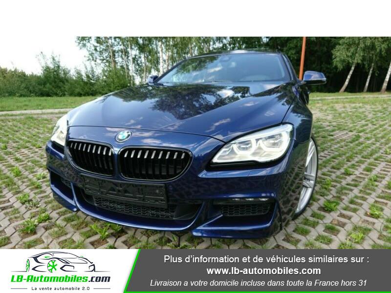 Bmw 320 640i 320ch F06 Bleu occasion à Beaupuy - photo n°8