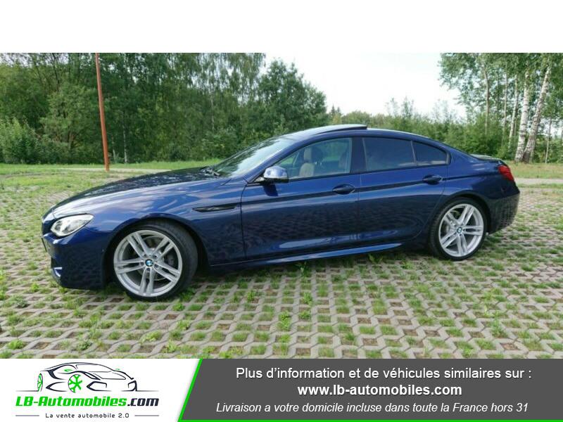 Bmw 320 640i 320ch F06 Bleu occasion à Beaupuy - photo n°9