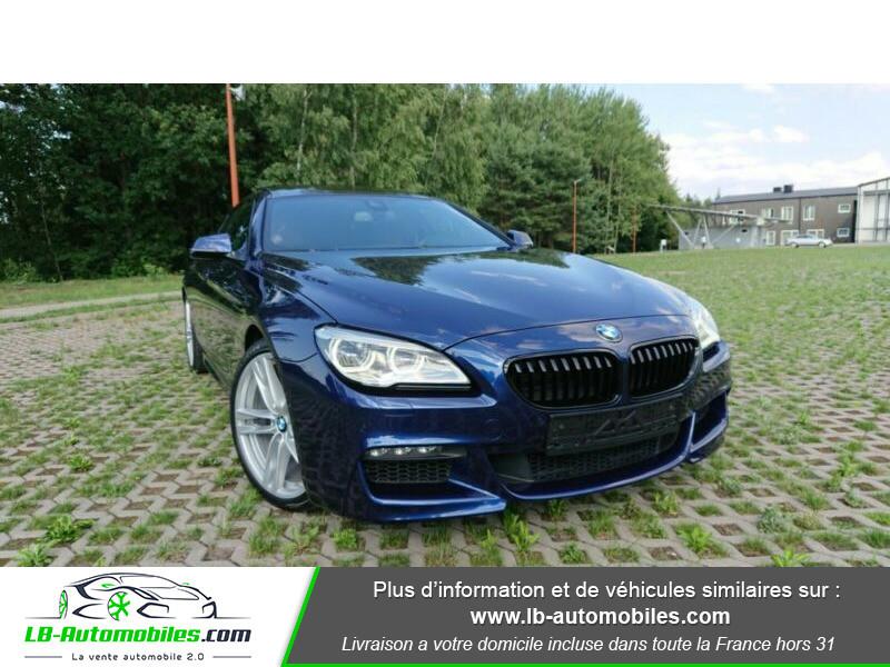 Bmw 320 640i 320ch F06 Bleu occasion à Beaupuy - photo n°13