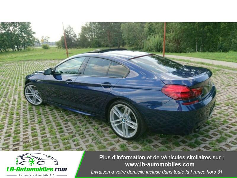 Bmw 320 640i 320ch F06 Bleu occasion à Beaupuy - photo n°10