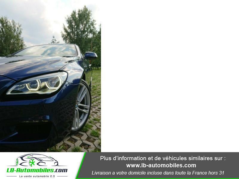 Bmw 320 640i 320ch F06 Bleu occasion à Beaupuy - photo n°7