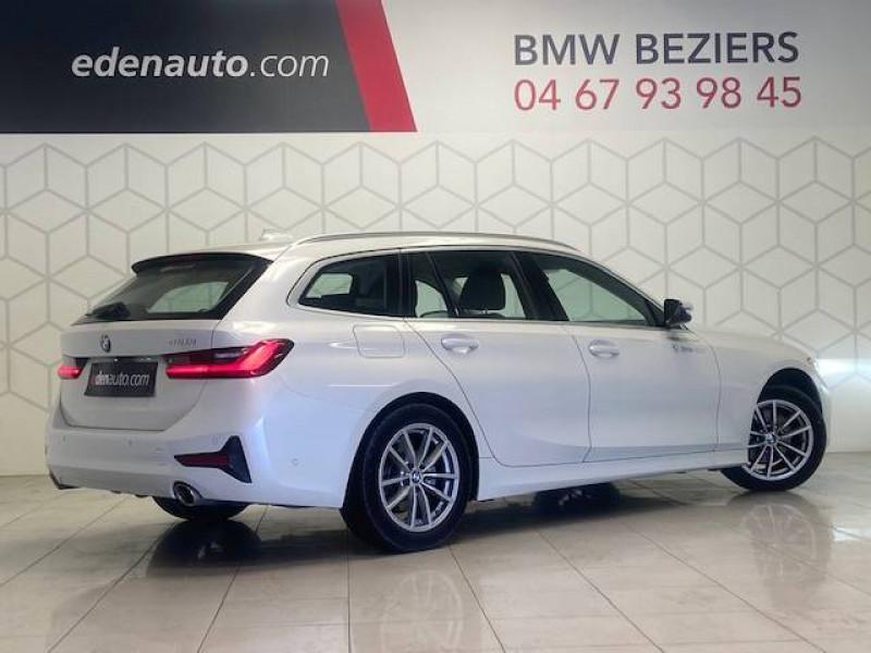 Bmw 320 Touring 320i 184 ch BVA8 Business Design 5p Blanc occasion à Béziers - photo n°2