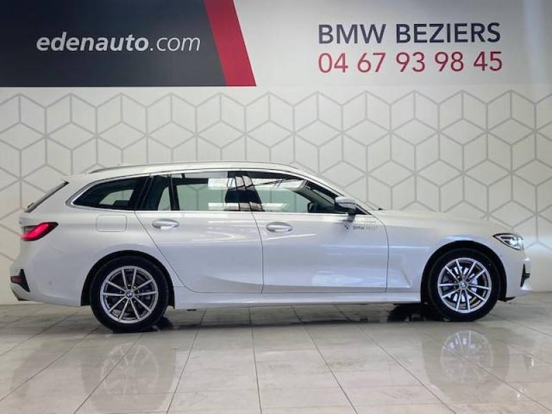 Bmw 320 Touring 320i 184 ch BVA8 Business Design 5p Blanc occasion à Béziers - photo n°3