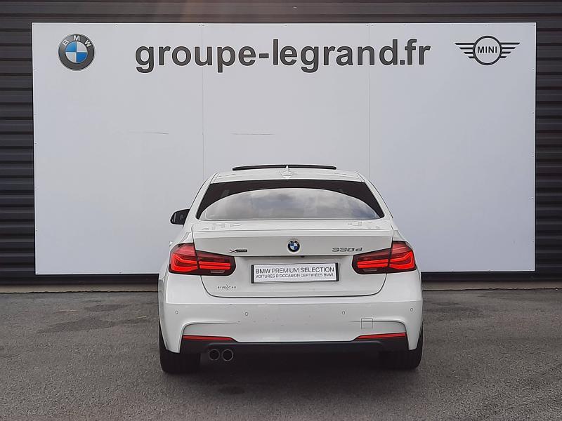 Bmw 330 330dA xDrive 258ch M Sport Blanc occasion à Valframbert - photo n°4