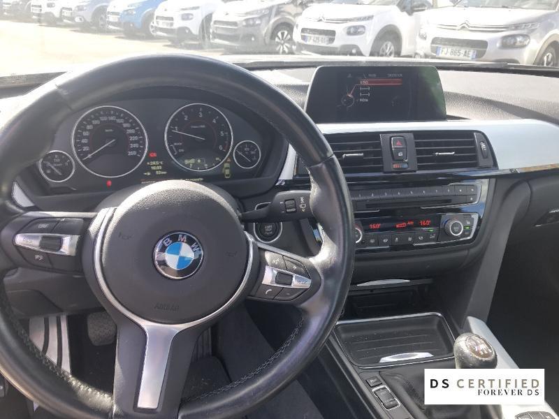 Bmw 420 420d xDrive 184ch M Sport Gris occasion à Mont-de-Marsan - photo n°8