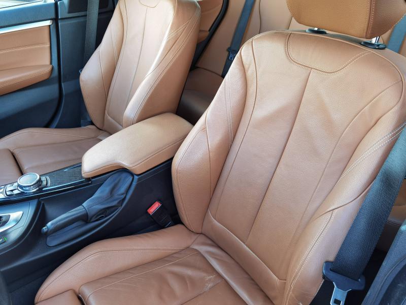 Bmw 420 420d xDrive 190ch Luxury Noir occasion à Valframbert - photo n°8