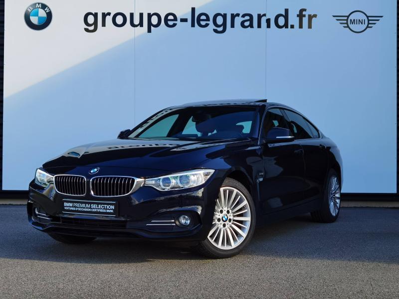 Bmw 420 420d xDrive 190ch Luxury Noir occasion à Valframbert