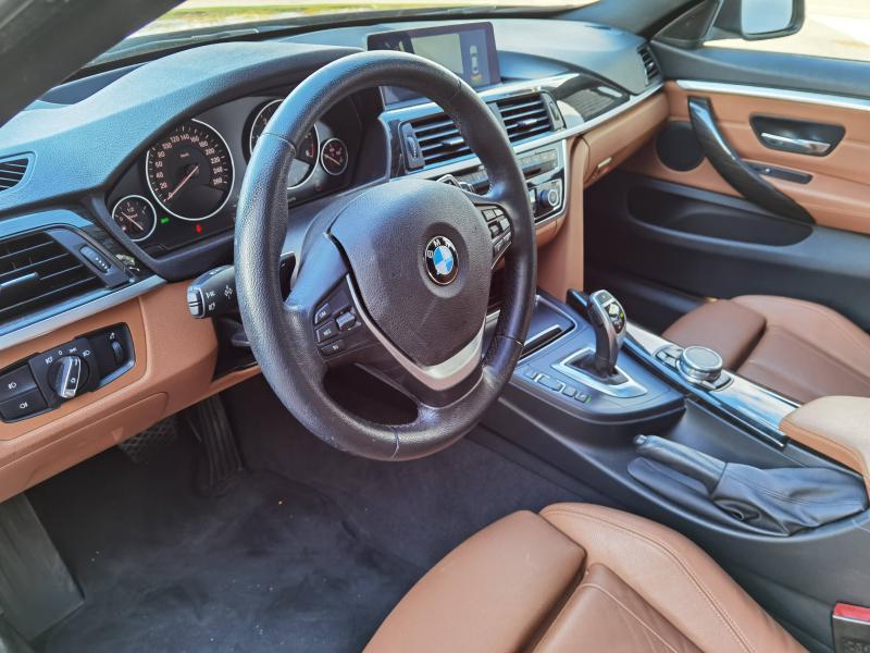 Bmw 420 420d xDrive 190ch Luxury Noir occasion à Valframbert - photo n°7