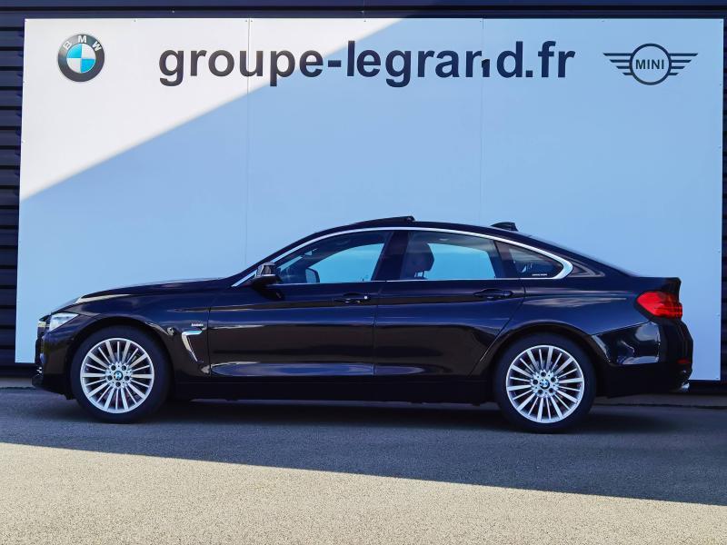 Bmw 420 420d xDrive 190ch Luxury Noir occasion à Valframbert - photo n°2