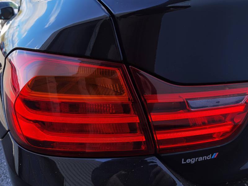 Bmw 420 420d xDrive 190ch Luxury Noir occasion à Valframbert - photo n°6