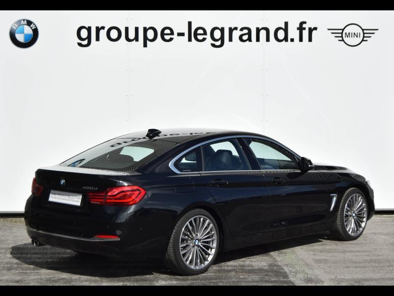 Bmw 420 420dA 190ch Luxury Euro6d-T Noir occasion à Le Mans - photo n°3