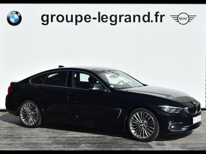Bmw 420 420dA 190ch Luxury Euro6d-T Noir occasion à Le Mans - photo n°7